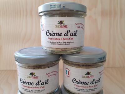 Crème d'Ail au  Basilic