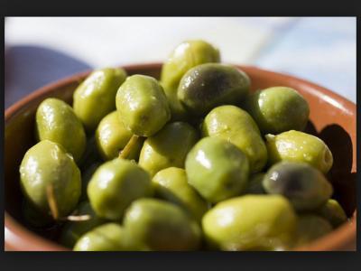 Olives Vertes Picholines AOP nature