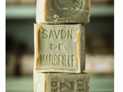 Savon de Marseille Cube  de 300 g Vert (Huile d'Olive)