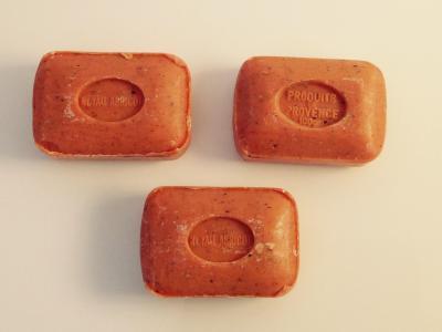 Savonnette Noyau d'abricot
