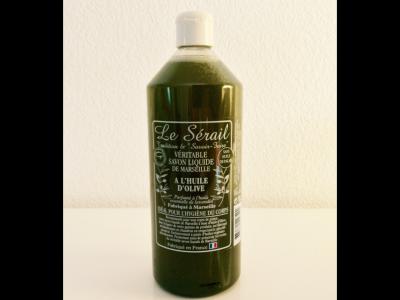Savon Liquide de Marseille Vert (Huile d'olive parfumé au lavandin)