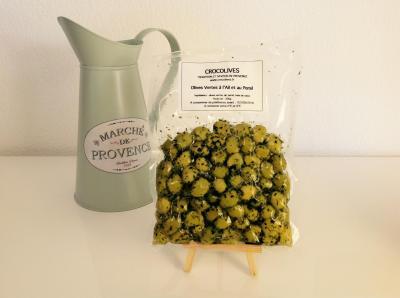 Olives Vertes à l'Ail et au Persil