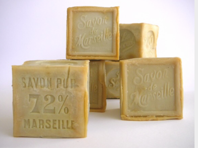 """Savon de Marseille Cube aux Huiles Végétales """"Le Serail"""" 72% EXTRA PUR"""