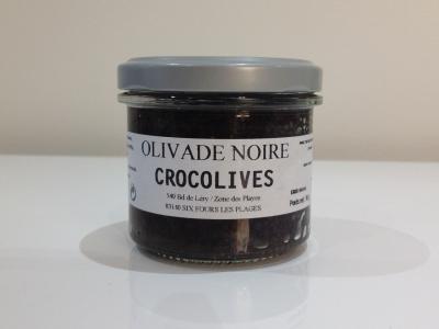 Olivade Noire pot 90 g verre