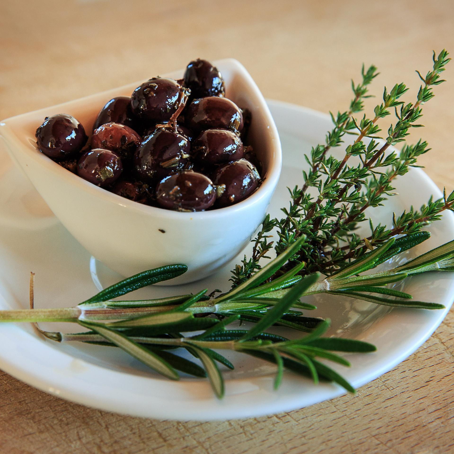 Olives Noires Coquillos façon Niçoise