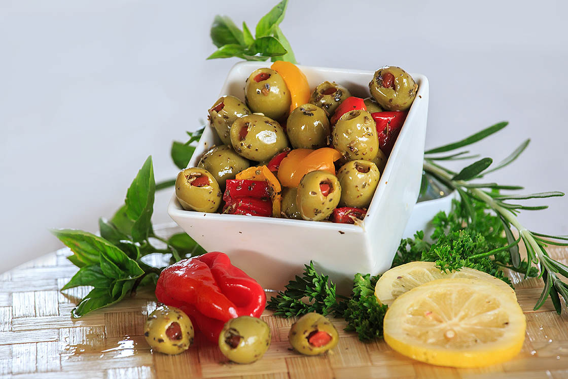 Olives vertes fourc e citron piments 1