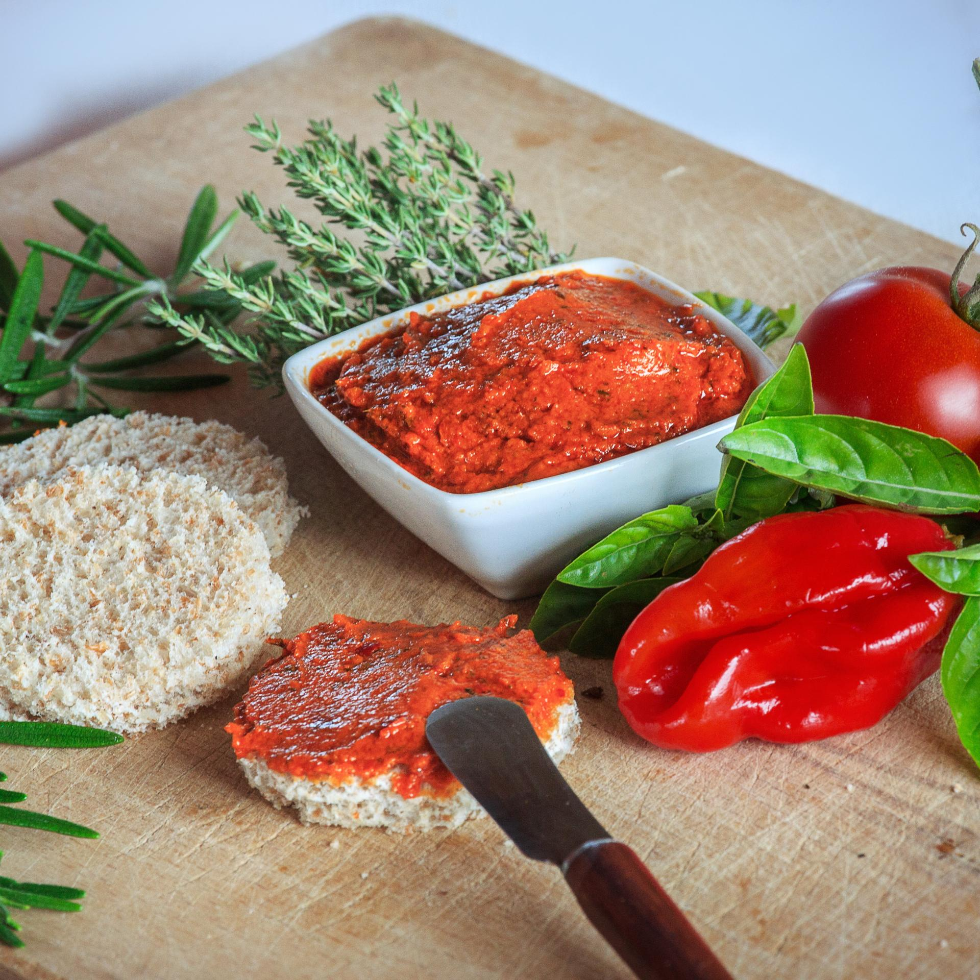 Tapenade olive poivrons