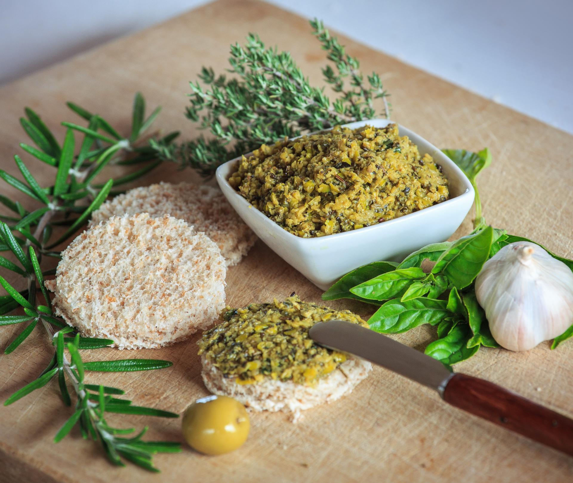 Tapenade olive verte 1